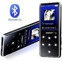 lecteur mp3 SUMGOTT 16GB mp3 bluetooth Écran tactile Radio FM, Enregistrement Vocal,E-Book(Supports 128G Micro SD)