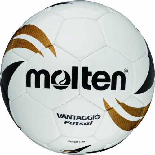 Molten Futsal VGI-390B, Weiß/Gold/Schwarz