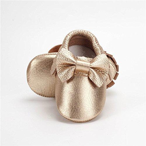 Ouro De Bebê De Franja Menina Fogo Sapatos Sapo Walker Sapatos zqwZ8WxO