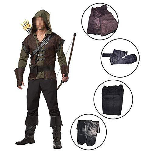 Halloween kostüm, Halloween Cosplay kostüm Halloween Cosplay Horror Kostüm,Halloween Kostüm Green Arrow Cosplay Kostüm Held Robin Hood Cosplay (Green Arrow Kostüm Halloween)