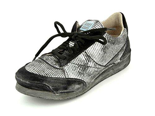 Sapatos Baixos af Mulheres Meio Preto Em Glovf Nero Moma qxZS1v