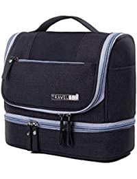 Dealcrox Waterproof Travel Toiletry Bag For Makeup And Cosmetic Organizer For Women And Men (Color May Vary)