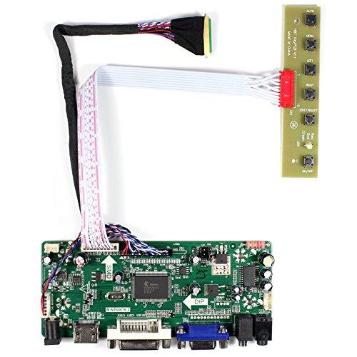 HDMI DVI VGA-Audio-LCD-Prüfer-Brett für 15.6 '17.3' LP173WF1-TL N173HGE-L21 B156HW02 1920x1080 LED 40Pins LVDS-Schnittstellen-LCD-Platte