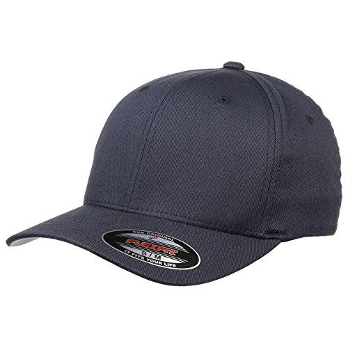 Original Flexfit Cap, navy, Schirmunterseite Silbergrau S/M (54-57) - Navy Twill Cap