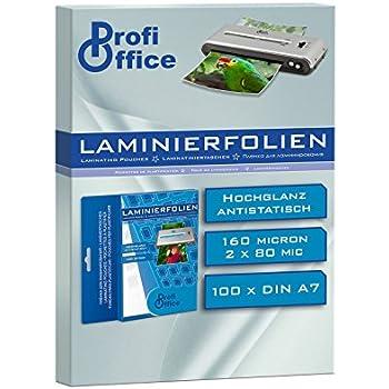 100 St. Hama Laminiertasche Laminierfolien  DIN A 6