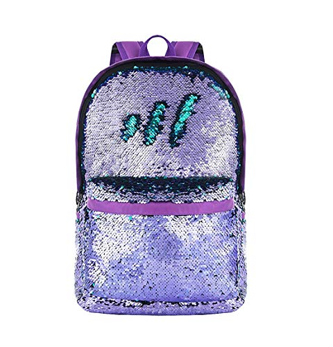 4d9c7009e541 YouthUnion Reversible Magic Sequin Backpack School Bags