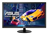 Asus VP248QG 61 cm (24 Zoll) Gaming Monitor (Full HD, VGA, HDMI, DisplayPort, 75Hz, 1ms Reaktionszeit, Adaptive-Sync) schwarz