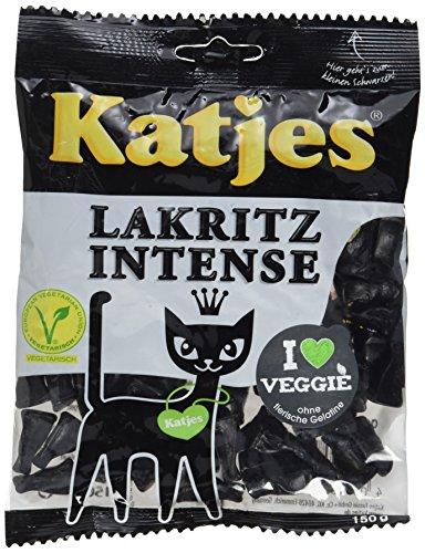 Katjes Lakritz Intense, 10er Pack (10 x 150 g)