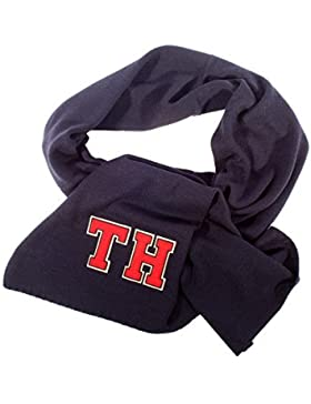 Tommy Hilfiger Tuch TH Patch Knitted Scarf Solid AW0AW03324 902 Midnight