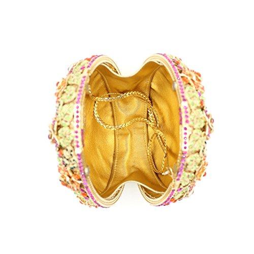 Damen Abend packt Diamant Strass Diamanten Diamanten Diamanten Diamanten Brautjungfer Handtaschen Bankett-Packs picture color