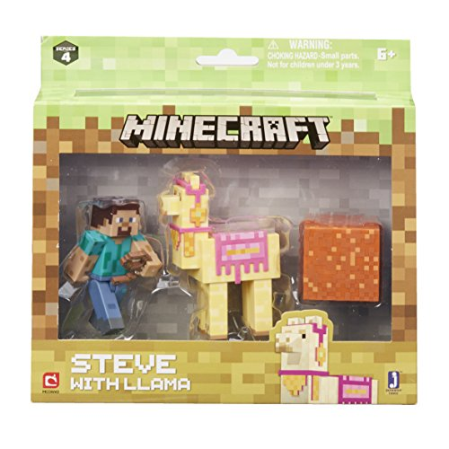 Minecraft 16602  Steve with Llama Figure