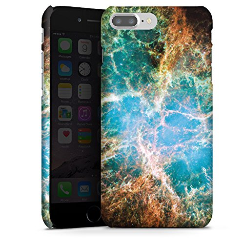 Apple iPhone X Silikon Hülle Case Schutzhülle Galaxy Muster Universum Premium Case glänzend