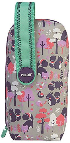 Milan 08872PUP Pulu Land Estuches, 23 cm, Multicolor