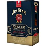 Jim Beam Double Oak Bourbon Whiskey with Crystal Glass 70 cl