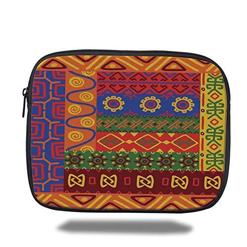 air 2/3/4/mini 9.7 inch,Primitive,Ethnic Primitive Native American Motifs with Unique Old Folkloric Elements Retro,Multicolor,3D Print ()