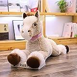 CGDZ 1 stück 90 cm / 120 cm Kawaii Einhorn Plüschtiere Riesen Kuscheltier Pferd Spielzeug für Kinder Weiche Puppe Wohnkultur Liebhaber Geburtstagsgeschenk 110 cm