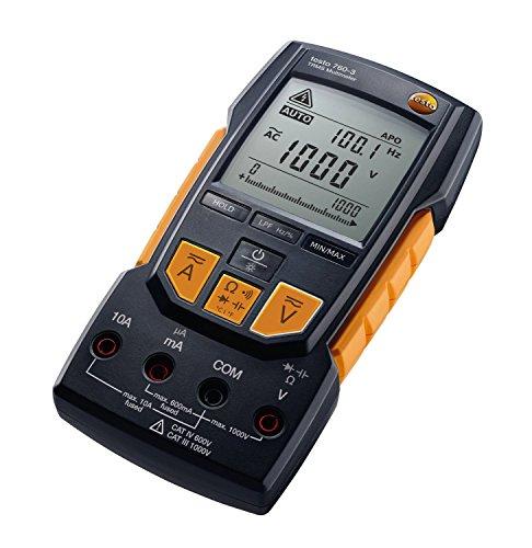 Testo True-rms Multimeter 1 Stück, 0590 7603 Digital-multimeter Cat