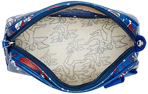 piero guidi Sling, Borsa a Tracolla Donna, 25.5x15x9 cm (W x H x L) Blu (Blu di Prussia)