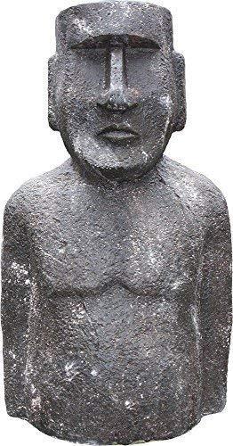 Moai , isola di pasqua figura,giardino scultura,statua decorativa giardino, 95 cm