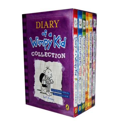 Collection Diary of a Wimpy Kid Lot de 6 livres The Ugly Truth, Dog Days, Do-It-Yourself Book, Diary of A Wimpy Kid, Rodrick Rules, The Last Straw (Wimpy Kid) (en anglais)