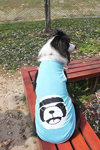 Doggy Kostüm Großer Hund Kleidung Haustier großer Hund Kleidung Haustier Kleidung gewalttätiger Bär großer Hund Weste (Farbe: rot, Größe: 3XL) Haustier-Hundekleidung (Farbe : Sky blue, Größe : 4XL) (Bären Kostüm Für Große Hunde)
