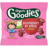 Organix Goodies Organique Fruits Moos Framboise Et Pomme Pour Les Tout-Petits De 12 Mois Et 12G - Lot De 2