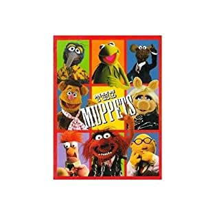 Disney The Muppets Plush Throw Blanket Twin Size - Miss Piggy Kermit the Frog