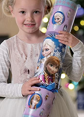Disney Frozen Giant Cracker - Extra Large Elsa, Anna And Olaf Christmas Activity Cracker