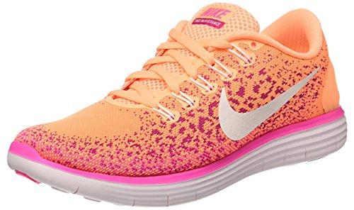 Nike Donna Wmns Free Rn Distance scarpe da corsa arancione Size: 36.5 EU