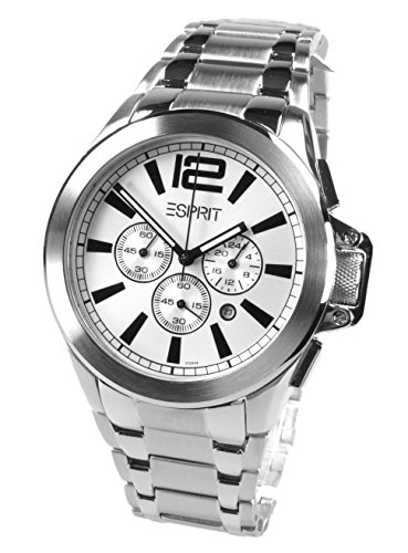 Esprit Damen-Armbanduhr Analog Quarz Edelstahl ES101292F01