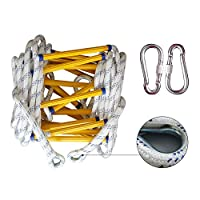 ZXXY Escape Rope Ladder, Emergency Fire Rescue Safety Soft Rope Ladder, Escape from Window and Balcony