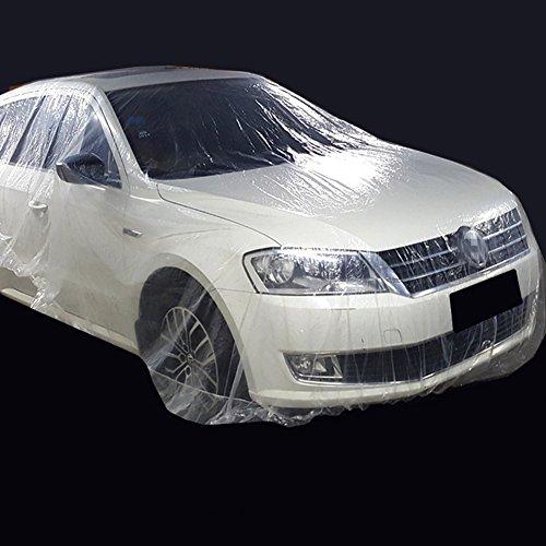 PKW Vollgarage Einweg Autoabdeckung Kunststofffolie