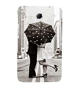 EPICCASE Love under umbrella Mobile Back Case Cover For Lenovo S880 (Designer Case)