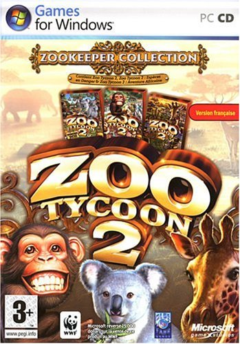 Pack Zoo 2 Tycoon : Zoo keeper