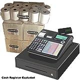 eposbits® marca rollos para que se ajuste a Casio SE-c2000sec2000seg se c C20002000caja registradora–80rollos