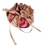 Packung mit 4 Stuhl Socken Tischbeinschutz Pads Blumenmuster