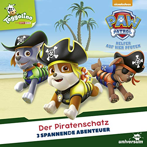 Der Piratenschatz: Paw Patrol 46-48 46 Audio
