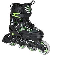 Inline Skate Jugend Gr. 35-39 blau (grün)