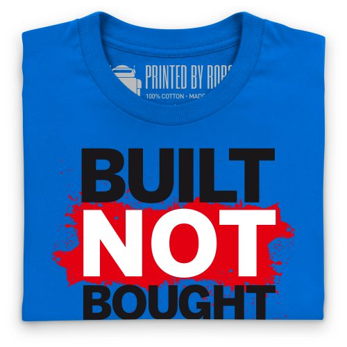 Not Bought T-Shirt, Herren Royalblau