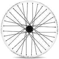 """Atomlab Rocky - Rueda para bicicletas ( 26 """" ), color azul, talla XS"""