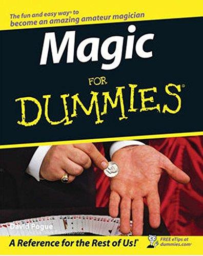Magic For Dummies par David Pogue