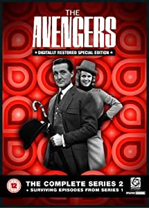 The Avengers - Complete Series 2 and Surviving Episodes From Series 1 [UK Import]