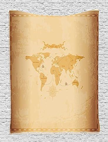 Ambesonne Maison Decor Collection, chambre à coucher Salon Dortoir Décoration murale à suspendre tapisseries, Multicolore, Tissu, Multi 7, 60