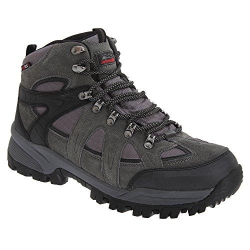 Johnscliffe Andes - Chaussures montantes de randonnée - Homme Gris foncé