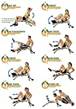 Wonder Core 2 Unisex with built in Twisting Seat and Rower Plus 3 Year Extended Warranty (As Seen on High Street TV)