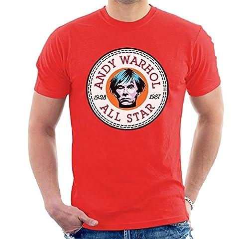 Andy Warhol All Star Converse Logo Men's T-Shirt