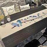 WENJUN Tee Tisch Tisch Tischläufer Minimalismus Moderne Stoff Kunst Bett Schwanz Handtuch Nordeuropa Bett Fahnen Bett Schwanz Handtuch Amerikanischen Stil Banner Tischdecke Streifen, 2colors, Alle Grö