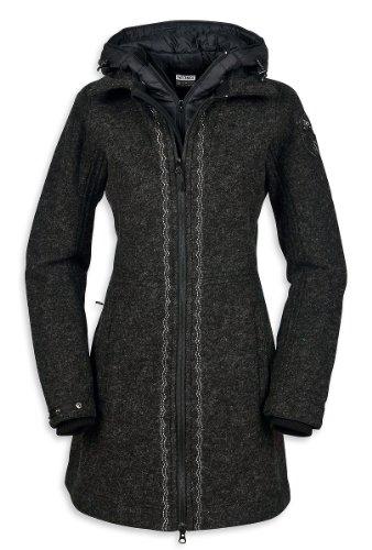 Tatonka Damen Mantel Mayfield Coat darkest grey