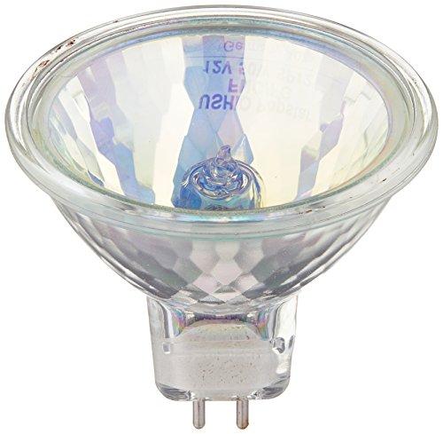 Farbige Mr16 Leuchtmittel (Ushio geliefert wird BC23671000580-FNC/FG jr12V-50W/SP12/FG/gelb-50W gelb MR16Leuchtmittel, 12V, 12Grad Spot)