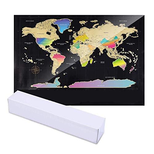 Carremark World Scratch Off Travel Scratch Map Room